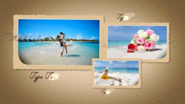 Romantic Slide show Apple Motion Template