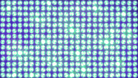 The wall of light, simple horizontal ignition Animation