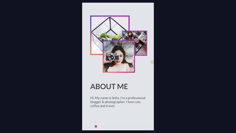 Instagram Promo Slideshow. Stories Premiere Pro Template