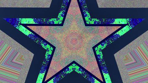 Star Glitch Kaleidoscope Animation