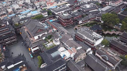 4k aerial video of Yuyuan Garden in Shanghai, China Footage