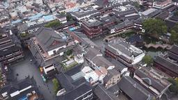4k aerial video of Yuyuan Garden in Shanghai, China Archivo