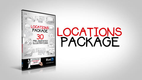 Locations After Effects Template
