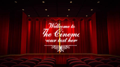 Cinema Room After Effects Template