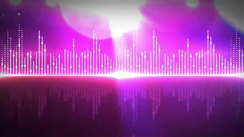 VJ Equalizer Set 01-01, Stock Animation