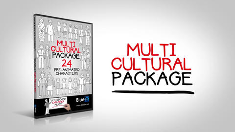 Multi Cultural After Effects Template
