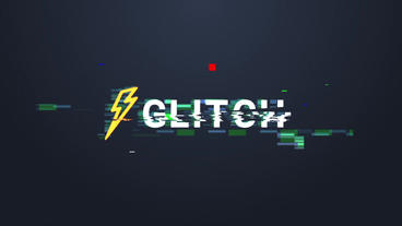 Glitch Logo Plantilla de After Effects