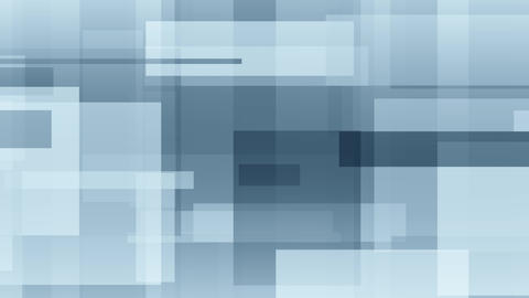 Moving abstract blue rectangles motion background Live Action