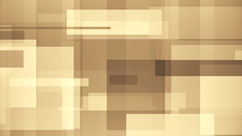 Brown rectangles abstract motion background Footage