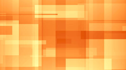 Moving abstract orange rectangles. Loopable motion background Live Action