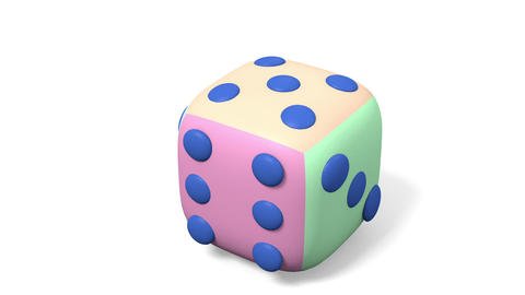 Toy dice Animation