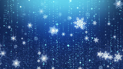 Winter Christmas Background CG動画素材