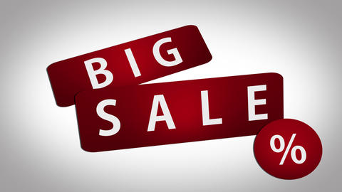 Sale Promo Big Sale Tags Animation