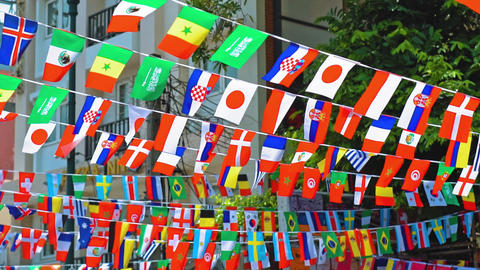 national flags of the world GIF