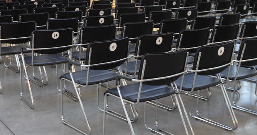 Auditorium for lectures with chairs Live Action