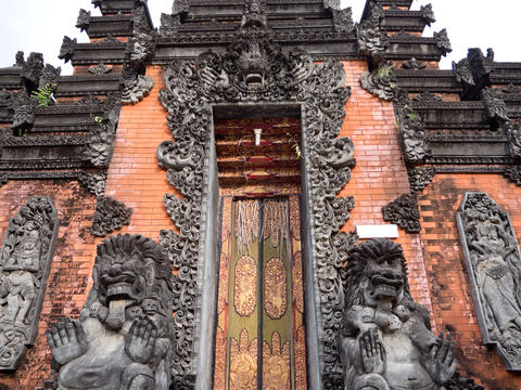 Hindu temple on Bali Photo