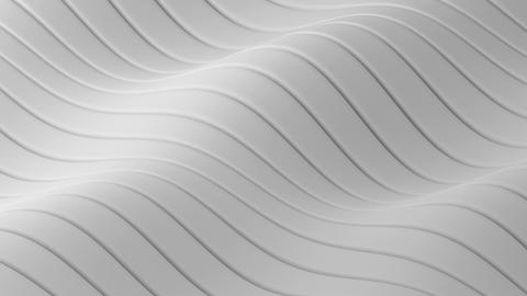 Abstract geometric waves loop - 3D animation Animation
