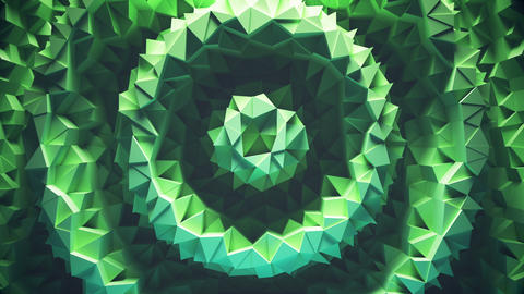 Abstract geometric loop background Animation
