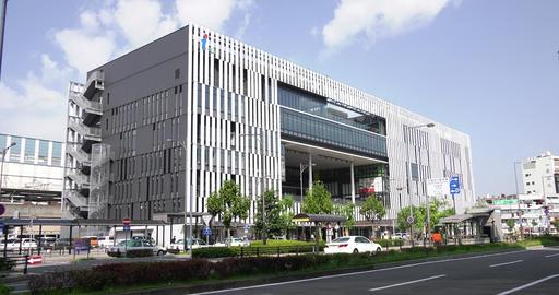I buil ichinomiya city_long shot Footage