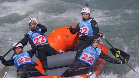 Rafting Training Women Russian Federation Live Action