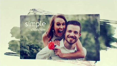 Clean Photo Slideshow After Effects Template