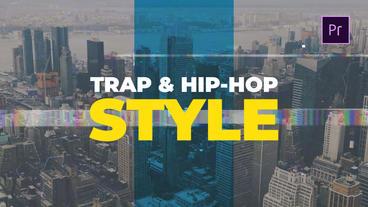 Hip-Hop & Trap Style Premiere Pro Template