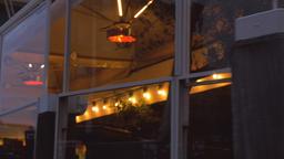 Fine Dining Waterside Restaurant in Amsterdam Live Action