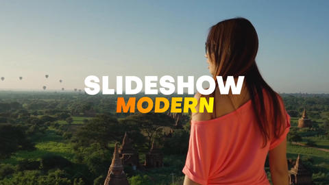 Slideshow Modern After Effectsテンプレート