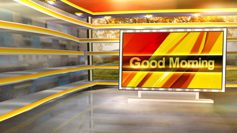 Gd morning set Animation