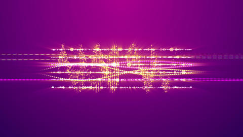 Splendid Musical Frequencies with Two Notes Animation