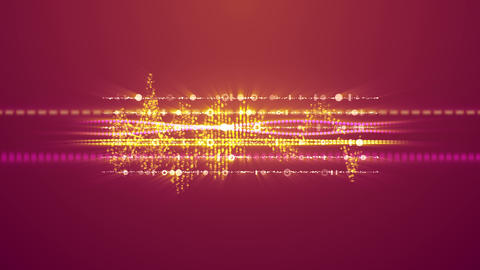 Merry Musical Frequencies with Two Notes Animation