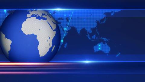 Globe Background News Opening Broadcast animation Animation