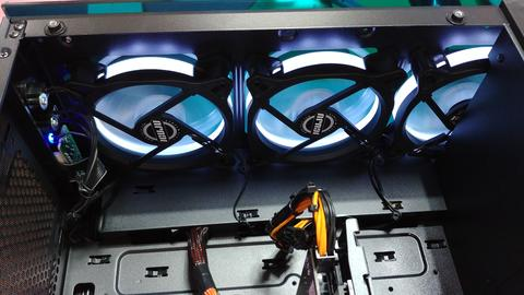Tuning case front cooler Photo