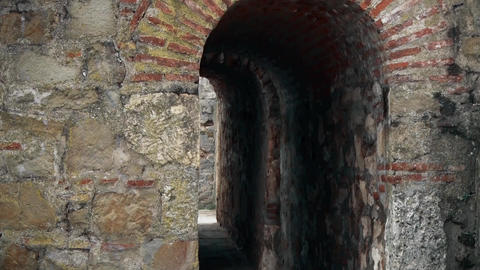 Old Fortress from the Middle Ages, The passage through the fortress Live Action