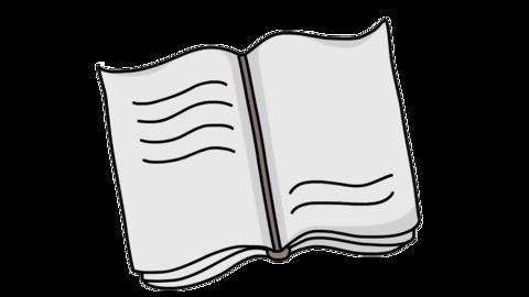notebook study Sketch illustration hand drawn animation transparent Animation