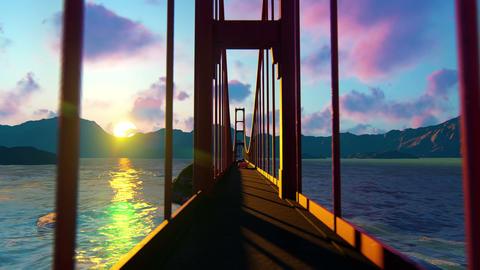 Golden Gate On The Ocean 3 Animation