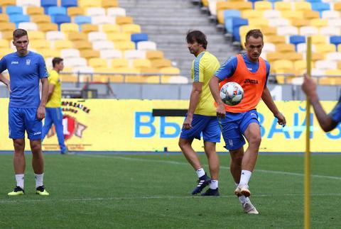 Training session of Ukraine National Football Team in Kyiv Photo