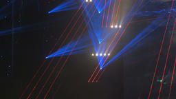 Laser Stage Lights Projecting Beams 4 Live Action