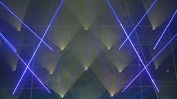 Triangular Shaped Projection of Lights Live Action