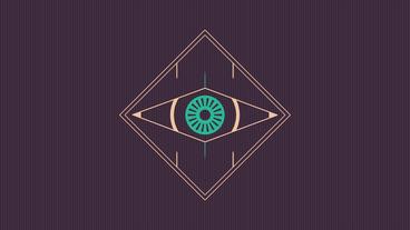 Minimal Abstract Eye Logo Premiere Pro Template