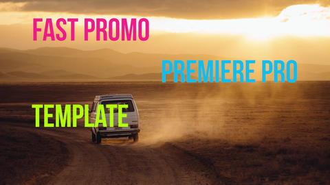 Fast Promo Premiere Pro Template
