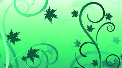 Floral Filigree Summer Animation