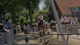 Jousting Games in the Netherlands Footage