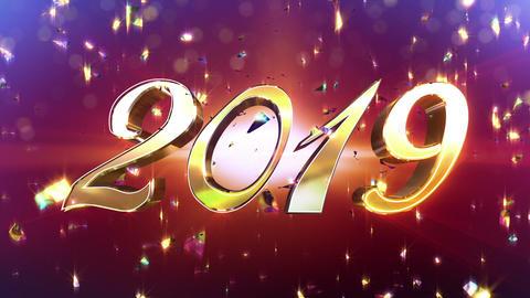 New Year 2019 Animation Animation