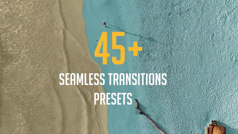 45+ Seamless Transitions Presets Premiere Pro Template
