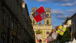 Sainte-Croix Cathedral,Orleans,France 4 Stock Video Footage