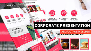 Corporate Identity Template For Business After Effects Template
