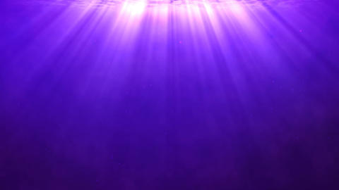 Purple background with divine light shining from above Animación