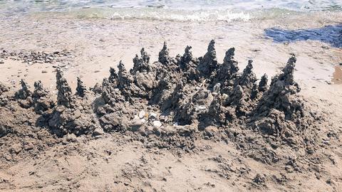 Beautiful Sand Mountain Landscape Photo