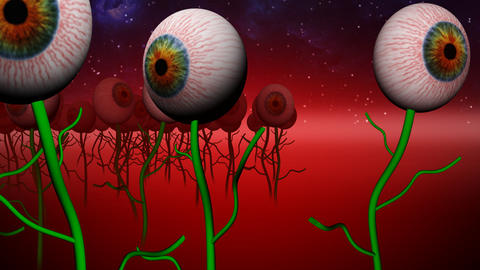 Eye planet Animation
